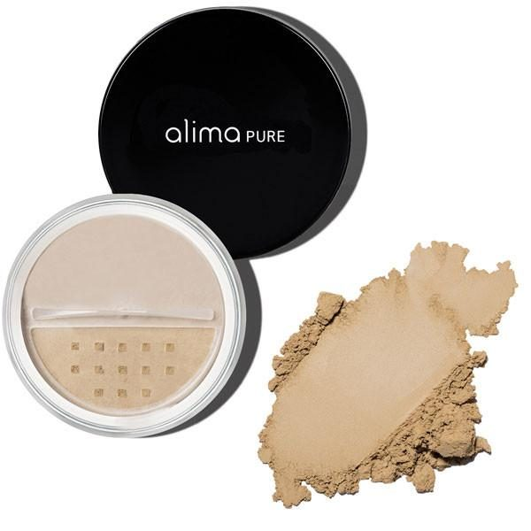 Osnovni puder (7.5g), odtenek Oliva 3. Alima Pure, naravna kozmetika.
