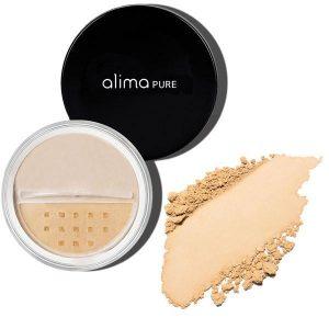 Osnovni puder (7.5g), odtenek Beige 4. Alima Pure, naravna kozmetika.