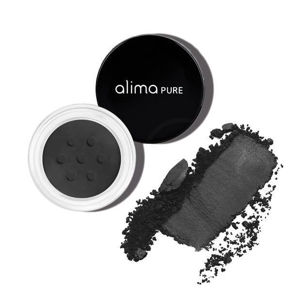 Mat mineralno senčilo/eye-liner za oči, Black (1.75g), Alima Pure