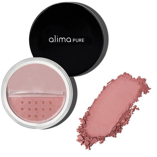 Mineralno rdečilo za lička, Antique Rose (4.5 g). Alima Pure, naravna kozmetika.