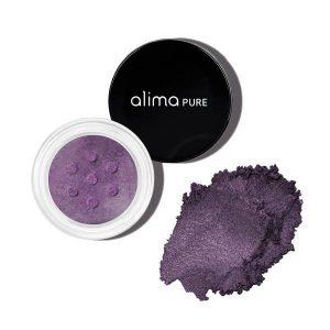 Mineralno senčilo za oči s šimrom, Aubergine (1.75 g). Alima Pure, naravna kozmetika.