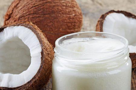 Kokosovo olje in koža