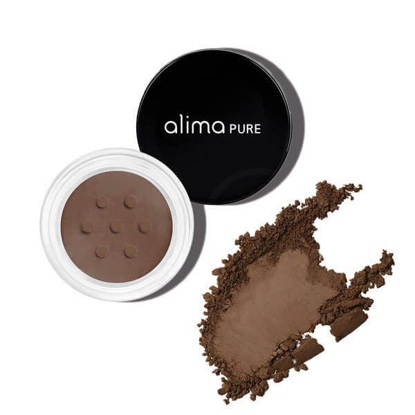 Mat mineralno senčilo za oči, Java (1.75 g). Alima Pure, naravna kozmetika.