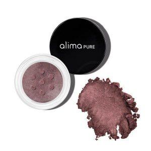 Mineralno senčilo za oči s šimrom, Black Orchid (1.75 g). Alima Pure, naravna kozmetika.