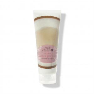 Negovalna krema za telo, Kokos (236 ml). 100% Pure, naravna kozmetika.