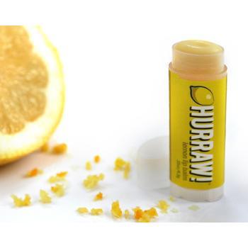 Balzam za ustnice, limona (4.3g), Hurraw!