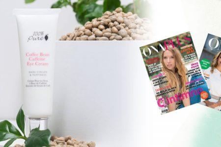"""Naravna kozmetika 100% Pure"" Revija Sense, junij 2012"
