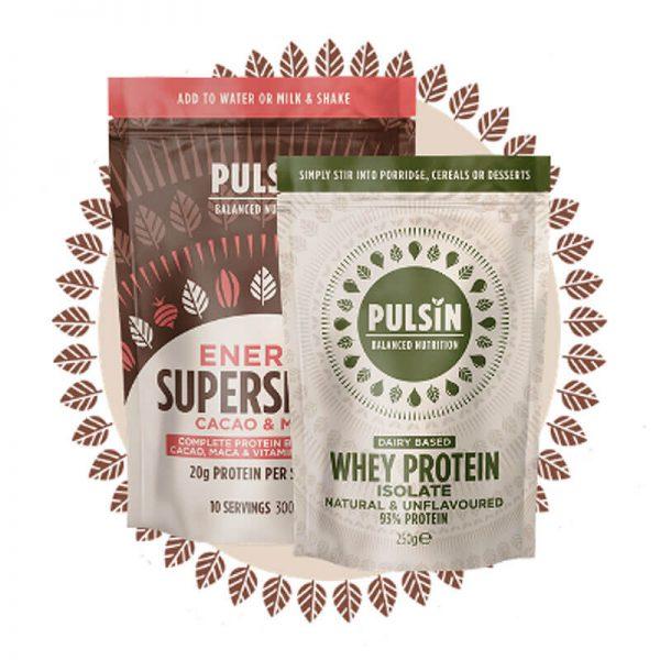 Pulsin presni konopljini proteini (250g), Naravni Proteini Pulsin