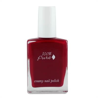 Kremni lak za nohte, odtenek Cherry Pop (14,7 ml). 100% Pure.