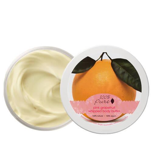 100% Pure Puhastno maslo za telo, rožnata grenivka (96g). 100% Pure.
