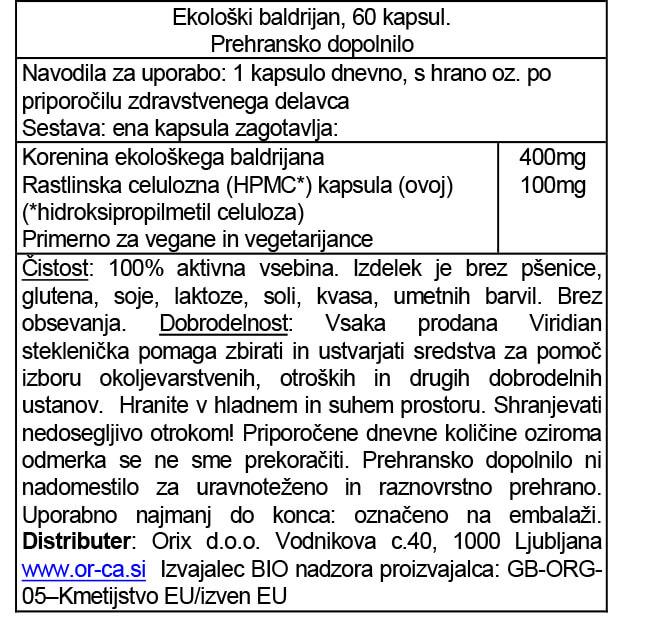 ekoloski-baldrijan-60-kapsul-orca-prehransko-dopolnilo
