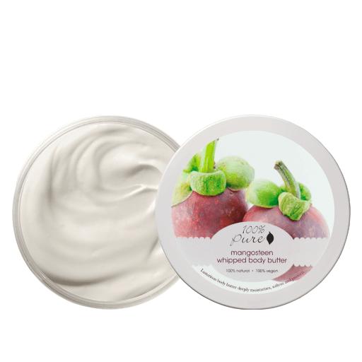 Puhastno maslo za telo, mangosteen (96 g). 100% Pure, naravna kozmetika.