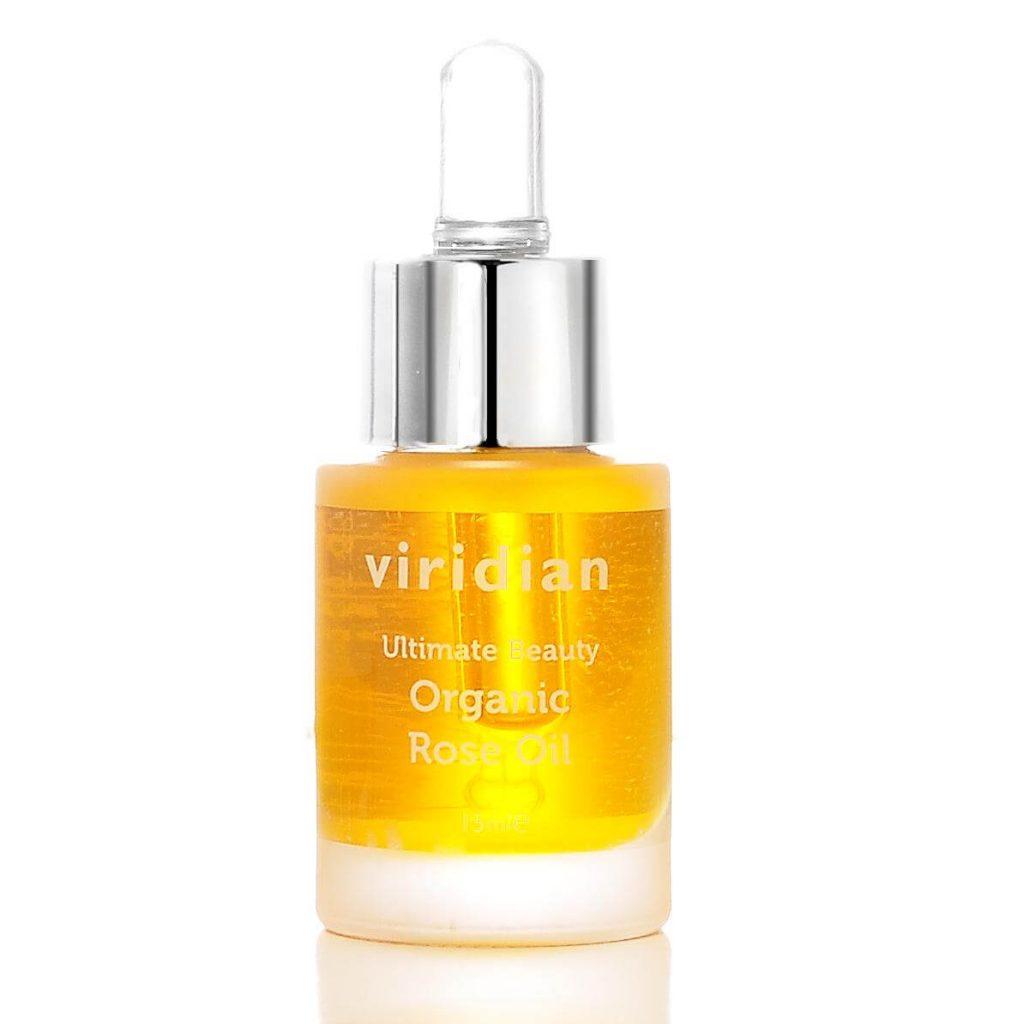 Ekološko vrtnično olje (15 ml), Viridian Nutrition. Ekološka nega kože.