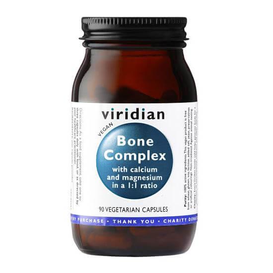 Kompleks za kosti (90 kapsul). Viridian Nutrition, naravni prehranski dodatki.