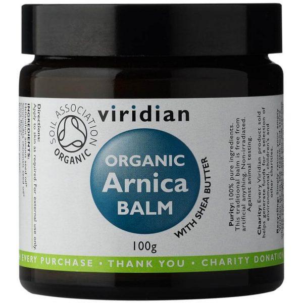 Ekološki balm z arniko (100g). Viridian Nutrition