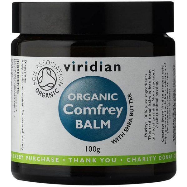 Ekološki balm z gabezom (100 g). Viridian Nutrition, ekološka terapevtska nega.