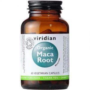 Ekološki Maca izvleček (60 kapsul). Viridian Nutrition, naravni prehranski dodatki.