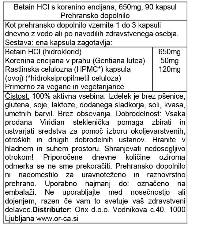 betain-hci-s-korenino-encijana-90-kapsul-orca-prehransko-dopolnilo