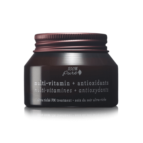 Multivitaminska antioksidantna nočna negovalna krema (42.5 g). 100% Pure, naravna kozmetika.