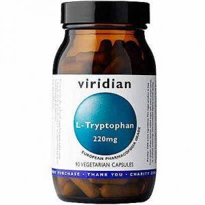 L-tryptophan (L-triptofan) (30 kapsul). Viridian Nutrition