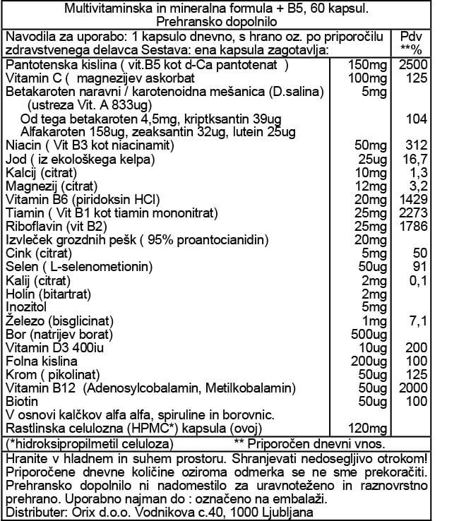 multivitaminska-in-mineralna-formula-b5-60-kapsul-orca-prehransko-dopolnilo
