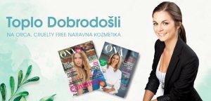 Članki, prispevki v revijah. Mediji o nas. Orca - naravna kozmetika.