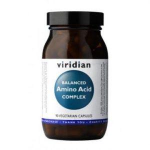 Uravnotežen kompleks aminokislin (90 kapsul). Viridian Nutrition, naravni prehranski dodatki.
