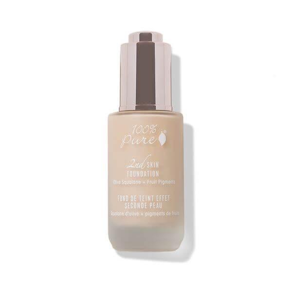 100% Pure naravni puder 2nd Skin Foundation: odtenek Creme (35ml)