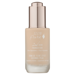 100% Pure naravni puder 2nd Skin Foundation: odtenek Toffee (35ml)