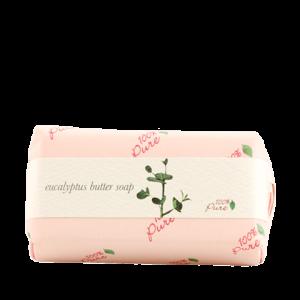 Kremno trdo milo z vonjem evkaliptusa, 127g, 100% Pure