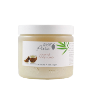 Piling za telo kokos, (443ml), 100% Pure