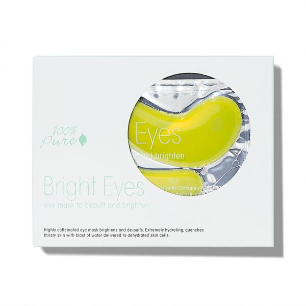 Maska za oči proti zabuhlosti - Bright Eyes. 100% Pure, naravna kozmetika.
