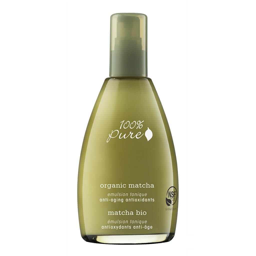 Ekološki Matcha emulzijski tonik z antioksidanti, proti staranju (177ml). 100% Pure, naravna kozmetika.