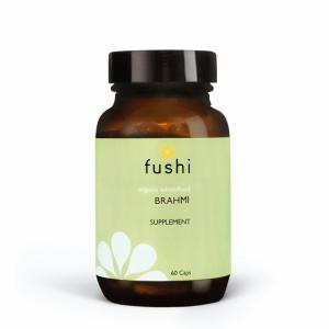 Ekološki brahmi, 60 kapsul. Fushi, naravna prehranska dopolnila.