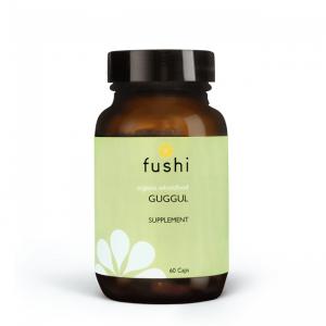 Ekološki guggul, 60 kapsul. Fushi, naravna prehranska dopolnila.
