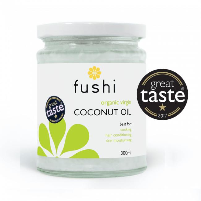 Ekološko kokosovo olje, 480ml, Fushi