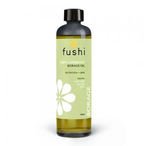 Ekološko olje borage, 100ml, Fushi