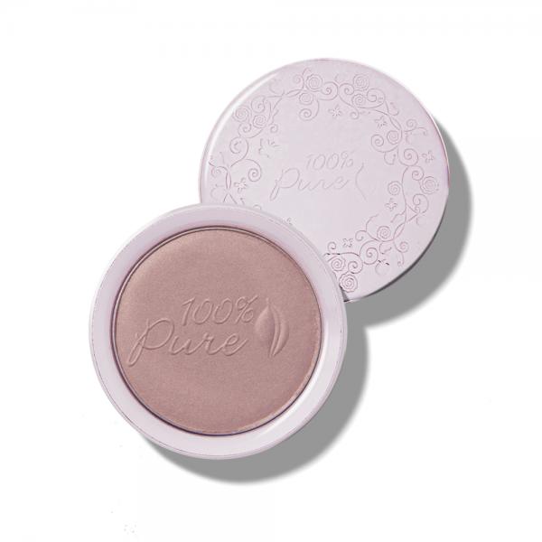 Rdečilo za lička, s sadnimi pigmenti - odtenek Mauvette (9g). 100% Pure, naravna kozmetika.