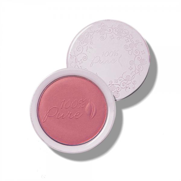 Rdečilo za lička, s sadnimi pigmenti - odtenek Plum (9g). 100% Pure, naravna kozmetika.