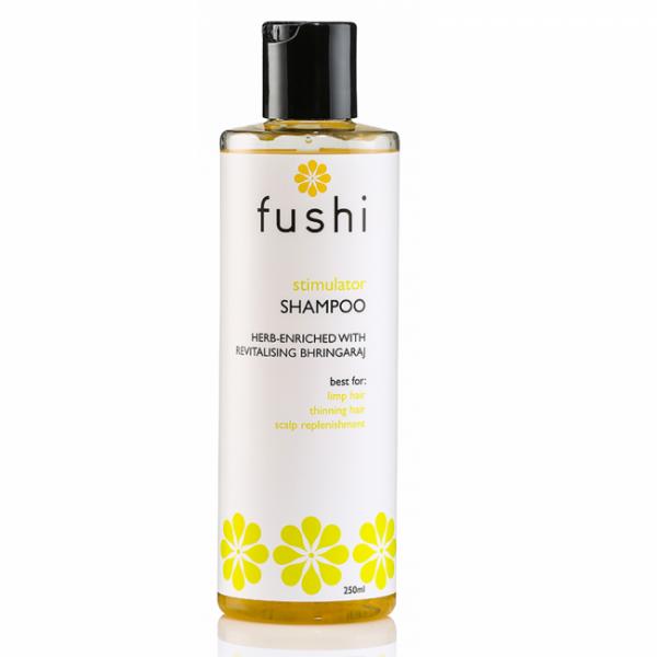 Stimulativni zeliščni šampon za krepitev in proti izpadanju las (250ml). Fushi, naravna lasna kozmetika.