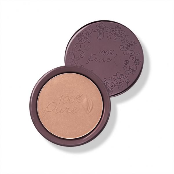 Bronzer s pigmenti kakava - odtenek Cocoa Gem (9g). 100% Pure, naravna kozmetika.