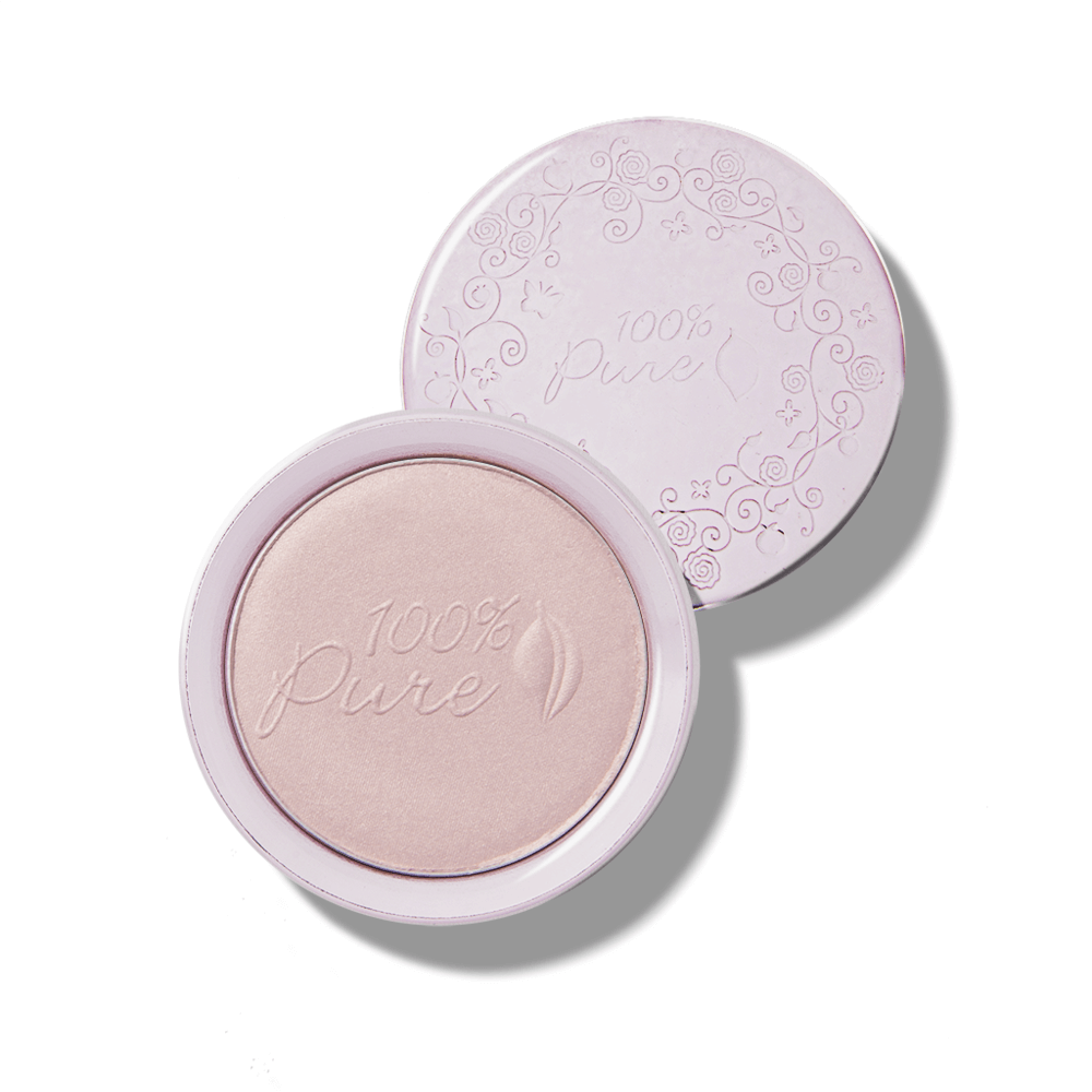 S sadnimi pigmenti obarvan luminizer - original (9g). 100% Pure, naravna kozmetika. Dekorativna kozmetika.