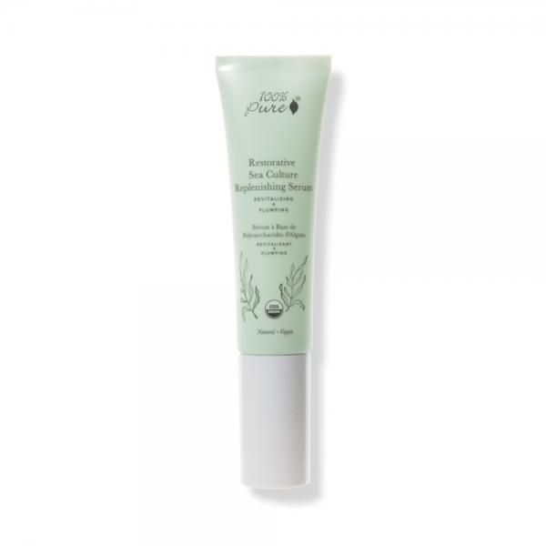 Sea Culture obnovitveni serum (30 ml). 100% Pure, naravna čistila za obraz.