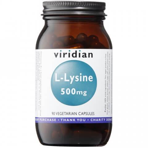 L-Lizin 500mg, 90kapsul. Aminokisline