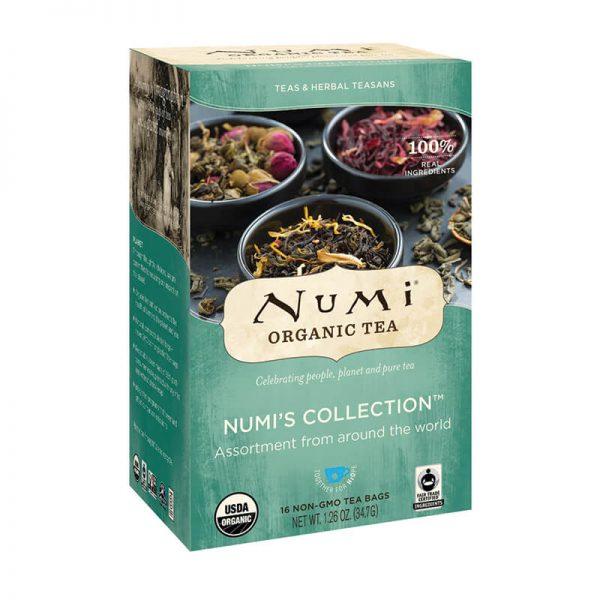 Ekološki čaj Numi kolekcija, 9 x 2 čajni vrečki (41,5 g). Numi, ekološki čaji.