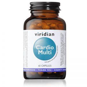 Cardio multi, 60 kapsul. Viridian Nutrition. Multivitamini