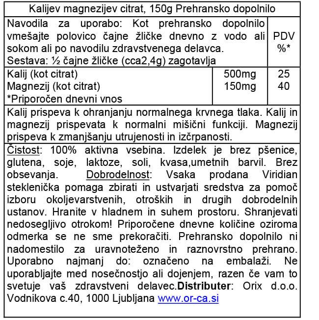 kalijev-magnezijev-citrat-orca-prehransko-dopolnilo