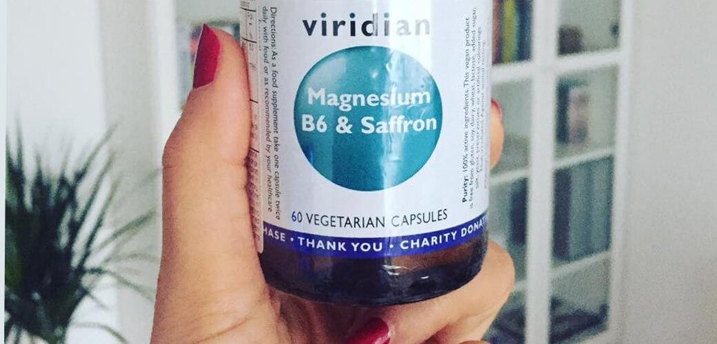 Magnezij z žafranom in B6 za vaše hormonsko ravnovesje