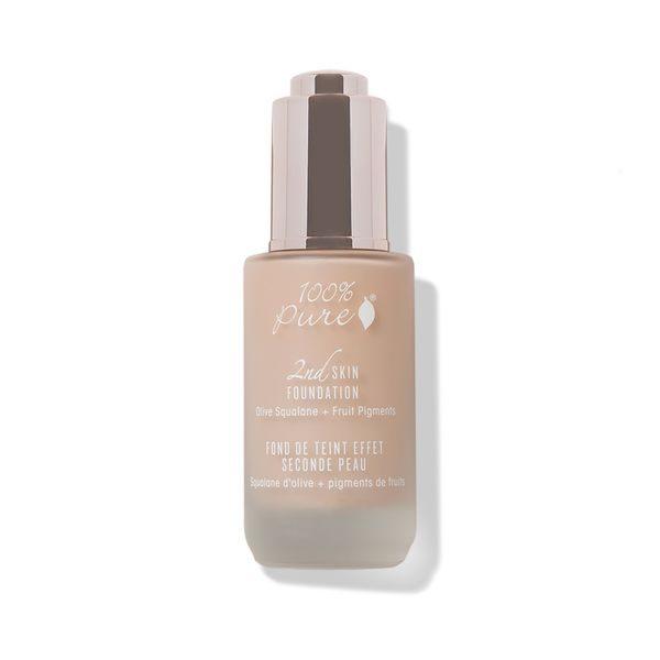 2nd Skin Foundation, naravni puder - odtenek 4 (35ml). 100% Pure, naravna kozmetika.