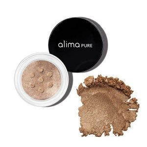 Mineralno senčilo za oči s šimrom, Brown Sugar (1.75g). Alima Pure. Svetleče senčilo za oči